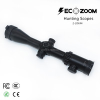 Caza Hunting Scopes 2-20x44 Side Focus Rifle Scope Optical Etched recoil Professional Riflescope for Hunting