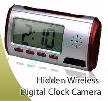 Clock DVR 720*480/30fps HD Mini Recorder TF card to 32GB