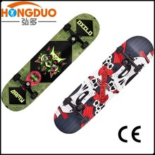 wood skateboard with low price/china wood skateboard