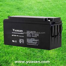 Reliable Quality Yuasan AGM VRLA Battery 12V 150AH Sealed Lead Acid Battery for UPS or Solar System -NP150-12