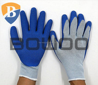 Dexterity farming glove latex dipped glove
