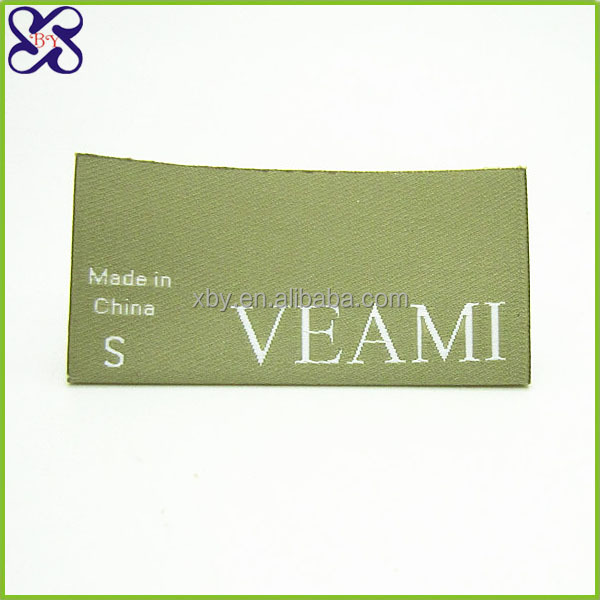 Cotton Filled Wholesale Custom Garment Woven Labels