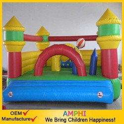 Cheap!Mini Air Bouncers Inflatable Bounce with Slide customized factory bouncers