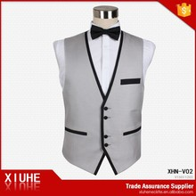 2015 New Design Polyester mens casual waistcoat