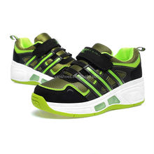 retractable roller skate shoes, sport roller running shoes for adults kids with light sole