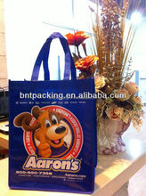 Offset printing cheap price high quality eco custom recycle pp non woven bag/shopping bag