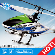 Sky king fd1098 2.4g 4ch rc helicóptero con el girocompás