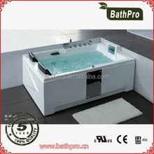 Western style commercial full body massage bathtub R8702