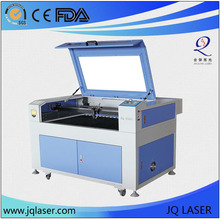 JQ 9060 CO2 laser engraving and cutting machine for plastic cutting
