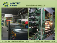 leather making machinery of plastic machinery with 4 roll calender