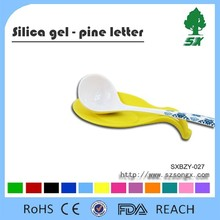 Food Grade and Durable Anti-Slip Silicone Pad for Spoon/Scoop/Ladle