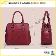Wholesale Designer Fashion The Newest Elegance Cheap Popular Woman Genuine Leather Shoulder Bag For Brand Hand Bag Made In China