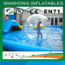 Customized inflatable water walking ball/low price inflatable water ball