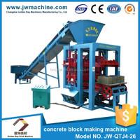 New German technology and low price cement brick block making machine price,cement manual block making machine