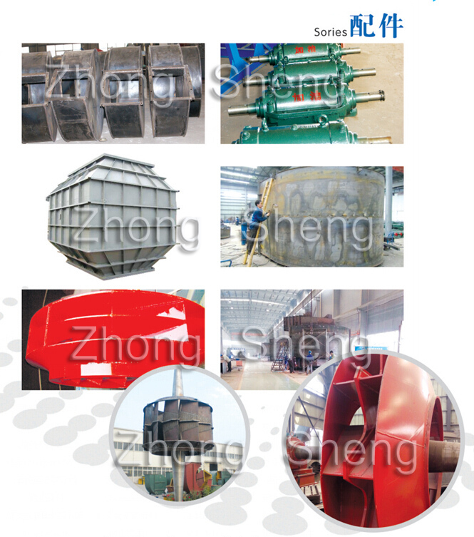 D type Coupling Driving Nitrogen Circulation Fan With Simens Inveter Motor