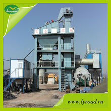 64t/h LB800 stationary batch asphalt hot mix plants equipment manufacture