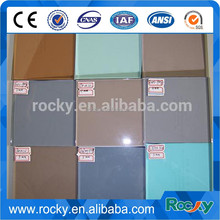 qingdao ROCKY 2mm to 19mm clear float glass with CE&ISO9001