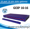 Free registration goip 16 port gsm gateway 16 channel gsm sim box voip gateway goip zigbee gateway goip 16-16