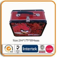Factory direct customs metal tin lunch tin box wholesale