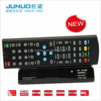 Factory direct video decoder dvb t2tv remote control receiver dvb t2 tv box in set top box for Bolivia