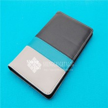 Office supplies promotional pu leather business card holder