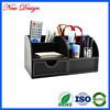 newest faux pu storage box for change money and keys leather storage box
