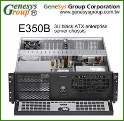 "E350B 3U ATX rackmount server chassis 19"" compact case"