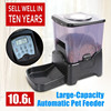 animal automatic food feeder large automatic dog feeder