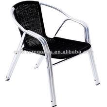 Poly Rattan Wicker Chair Rattan aluminum chair MY2004A