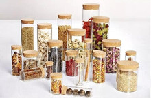 wholesale glass packing jar dry fruit save jar