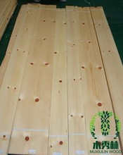 Knotty Pine Wood Veneer in Stock, Natural Wood Venner ,Wood Veneer Manufacturer