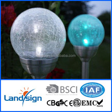 garden fence solar lights