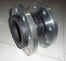 single phere rubber joint with galvanized flange