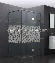 CAML pivot shower doors comfort room design shower screen pattern glass