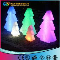 sale promotion PE remote control Color changing decorative Led Chrismas tree