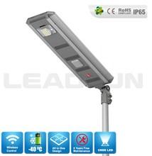 Bluetooth control integrated solar street light,all in one solar street light