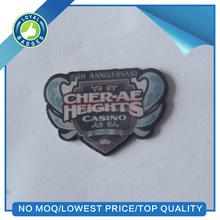 custom anniversary badge for casino
