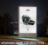 Advertising Mupi Light Box Sign scrolling light box billboard