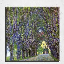 Wall art famous art painting reproduction Gustav Klimt painting