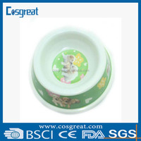 dog dishes & melamine dog bowl & suction cup pet bowl