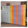 Rich color compact laminate key lock changing room locker