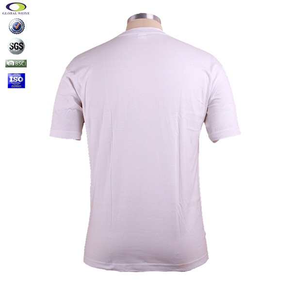 cheap cotton bulk mens plain white t shirts wholesale
