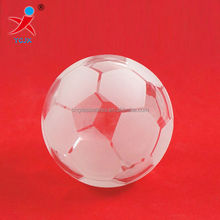 HANDMADE GLASS FOOTBALL