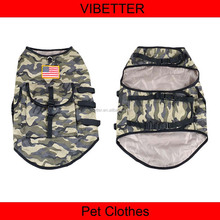 025 Camouflage Vest for Hunting Dogs Large Dogs Clothes