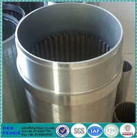 20 slot low carbon galvanized water well screen