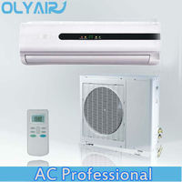 110v air conditioner split unit r410a remote control 60hz cooling only