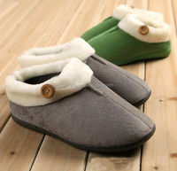 GCE160 faux fur wholesale pu gel slipper 2015