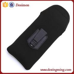 2015 new soft neoprene pouch, neoprene bag with belt clip ,neoprene holster for samsung galaxy s6 edge case
