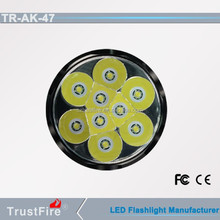 TrustFire AK-47 led hunting flashlight,9 XM-T6 tactical torch led, led torch 10000 lumens