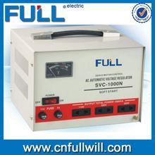 Hot sale SVC 1000VA single input motor type automatic universal voltage stabilizer for pump